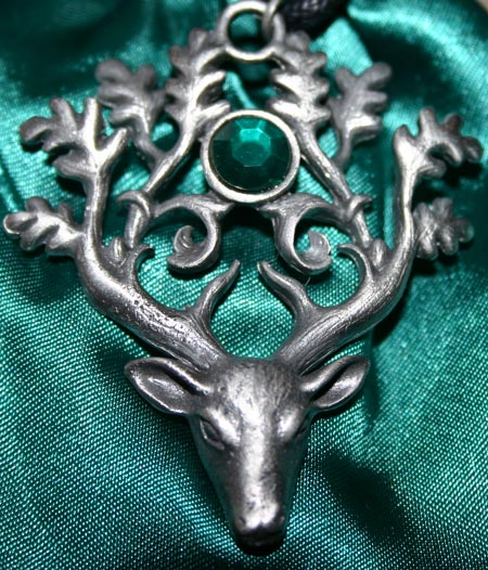 Stag Lord Protection Defense Pendant Pendant