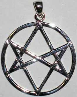Aleister Crowley's Magic Hexagram Pendant