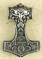 Odin Viking Thors Hammer Pendant Amulet