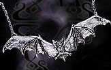 Alchemy Gothic Huge Gothic Bat Pendant