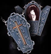 Alchemy Gothic Requiem Tryptich Coffin Locket