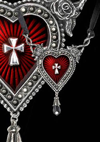 Gothic Love Hearts