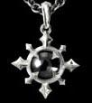 Chaos Hematite Chaosium Pendant