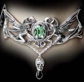 Alchemy Gothic Fleur deBaudelaire Fairy Absinthe Choker