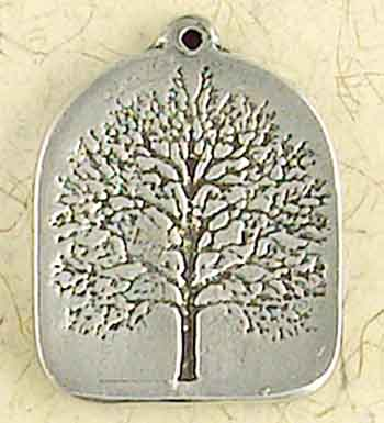 Wiccan Tree of Life Pendant Amulet