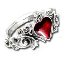 Vampire Wedding Rings