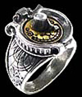 Alchemy Gothic Steampunk GMT Gender Gauge Ring