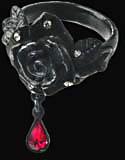 Alchemy Gothic Dark Rose of Passion Ring