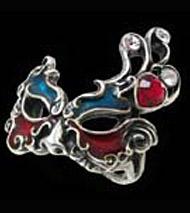 Alchemy Gothic Venetian Vanity Ring