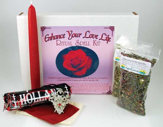 Enhance Your Love Life Spell Complete Ritual Kit