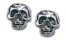 Alchemy Gothic Pewter Skull Buttons