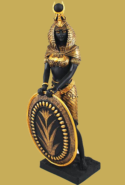 Egyptian Goddess of Magick & Nature Isis Statue