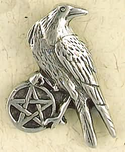 Pentacle of the Raven Amulet Pendant