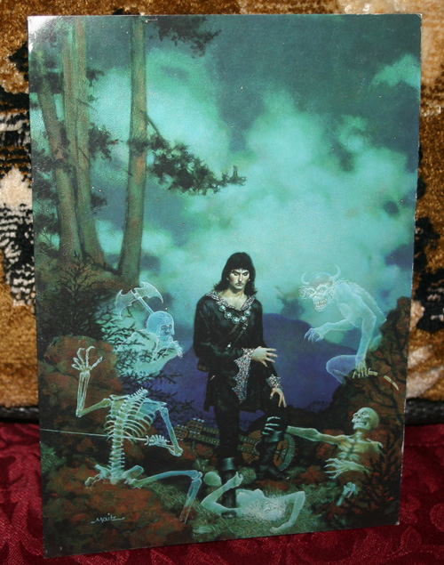 Gothic Greeting Card Ghostslayer Don Maitz