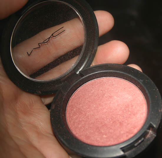 MAC Sheertone Shimmer Blush Plum Foolery
