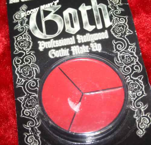 Bloody Mary Goth Creme Makeup Devil Red