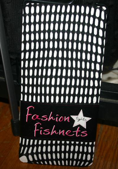 Black Pothole Fishnet Pantyhose Nylons