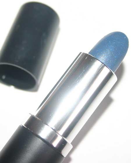 Manic Panic Blue Silver Glitter Glamstick Lipstick