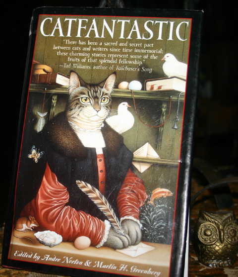 Cat Lovers Catfantastic Hardcover Book