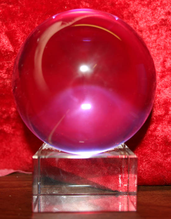 Scrying Glass Crystal Ball Holder Stand