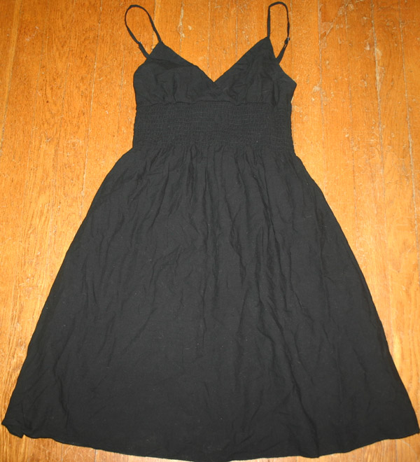 Derek Heart Black Cotton Witchy Summer Dress Small