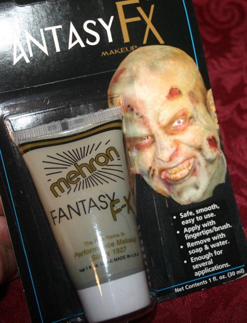 Fantasy FX Mehron Realistic Zombie Flesh Makeup