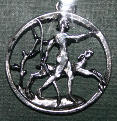 Diana Pendant Feminine Strength & Attraction Amulet