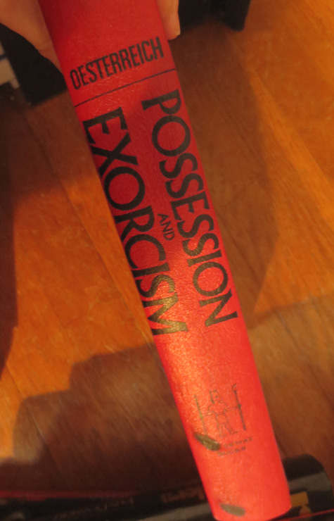 Possession and Exorcism Book Oesterreich RARE 1974 OOP