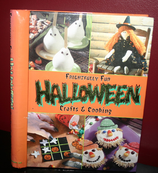Frightfully Fun Halloween Crafts Cooking Book