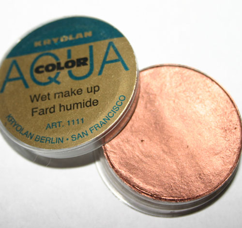 Kryolan Aqua Color Wet Makeup Copper