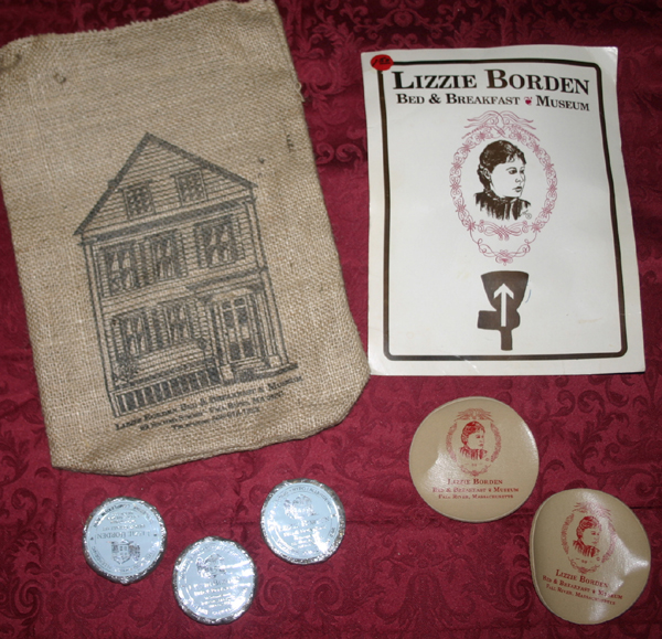 Lot of Lizzie Borden Collectibles Souvenirs