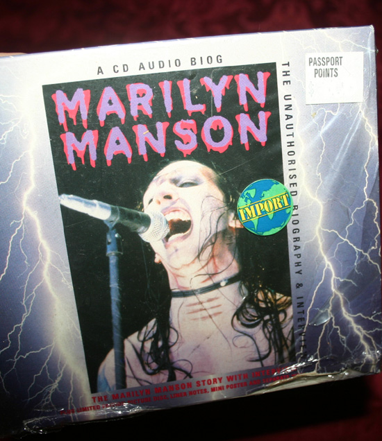 Marilyn Manson Interview CD Picture Disc Poster Import