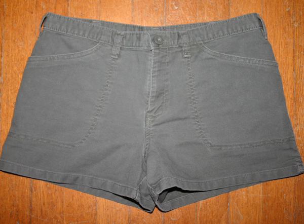 Old Navy Ladies Army Green Soft Cotton Shorts Size 4