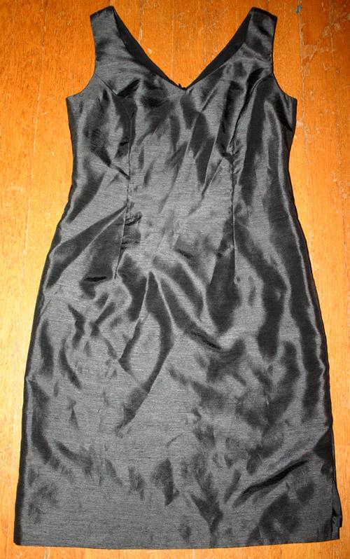 Donna Ricco NY Black PinUp Cocktail Dress 2P