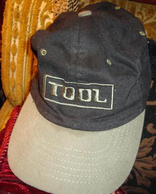 RARE Tool Black Green Baseball Cap Memorabilia