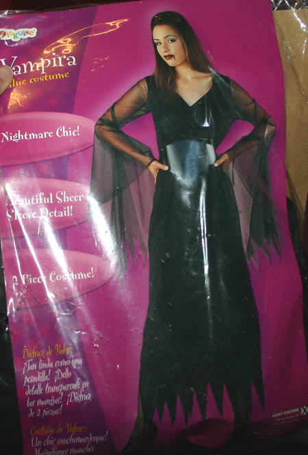 Gothic Vampira Halloween Costume Up to Size 14