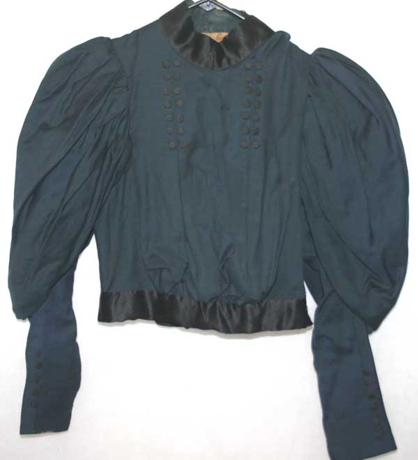 Antique Victorian Ladies Mutton Sleeve Bodice Blouse