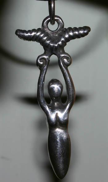 Victory Goddess Feminine Amulet Pendant