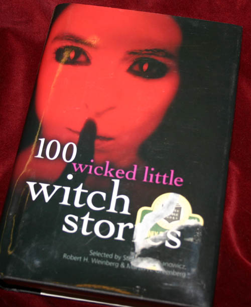 100 Wicked Little Witch Stories Hardcover Book