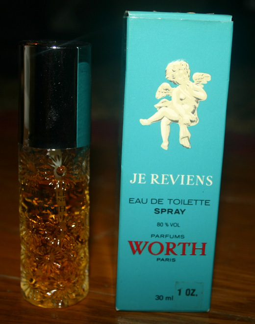 Vintage 1960s Worth Perfume Je Reviens Toilette Spray